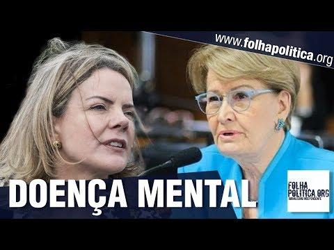 Senadora Ana Amélia termina de enterrar o PT ao expor doença mental que está atingindo o partido