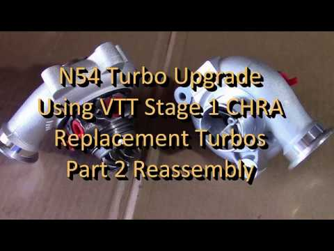E90 335i N54 DIY Low Cost Stage 1 Turbo Upgrade Part2 Reassembly