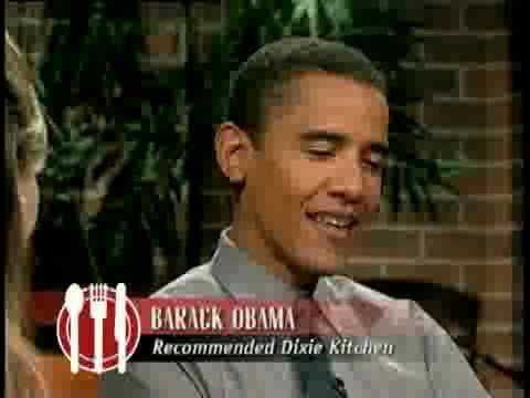 Barack Obama in 2001: State Senator, Restaurant Critic