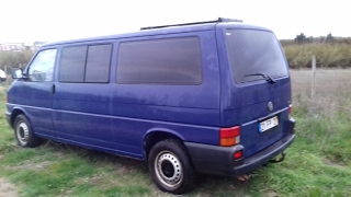 VW T4 LWB camper conversion