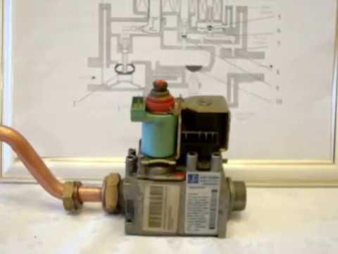Газовый клапан котла: устройство, неисправности, ремонт - YouTube