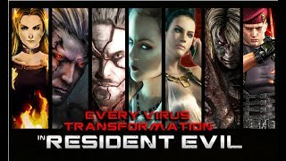 EVERY VIRUS TRANSFORMATION of HUMAN BOSSES  in Resident Evil | Boss Battle Gameplay | (60ᶠᵖˢ) ᴴᴰ ✔