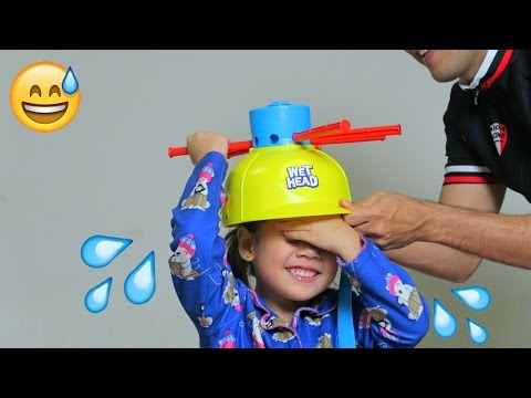 DESAFIO MOLHA CUCA! Wet Head Challenge