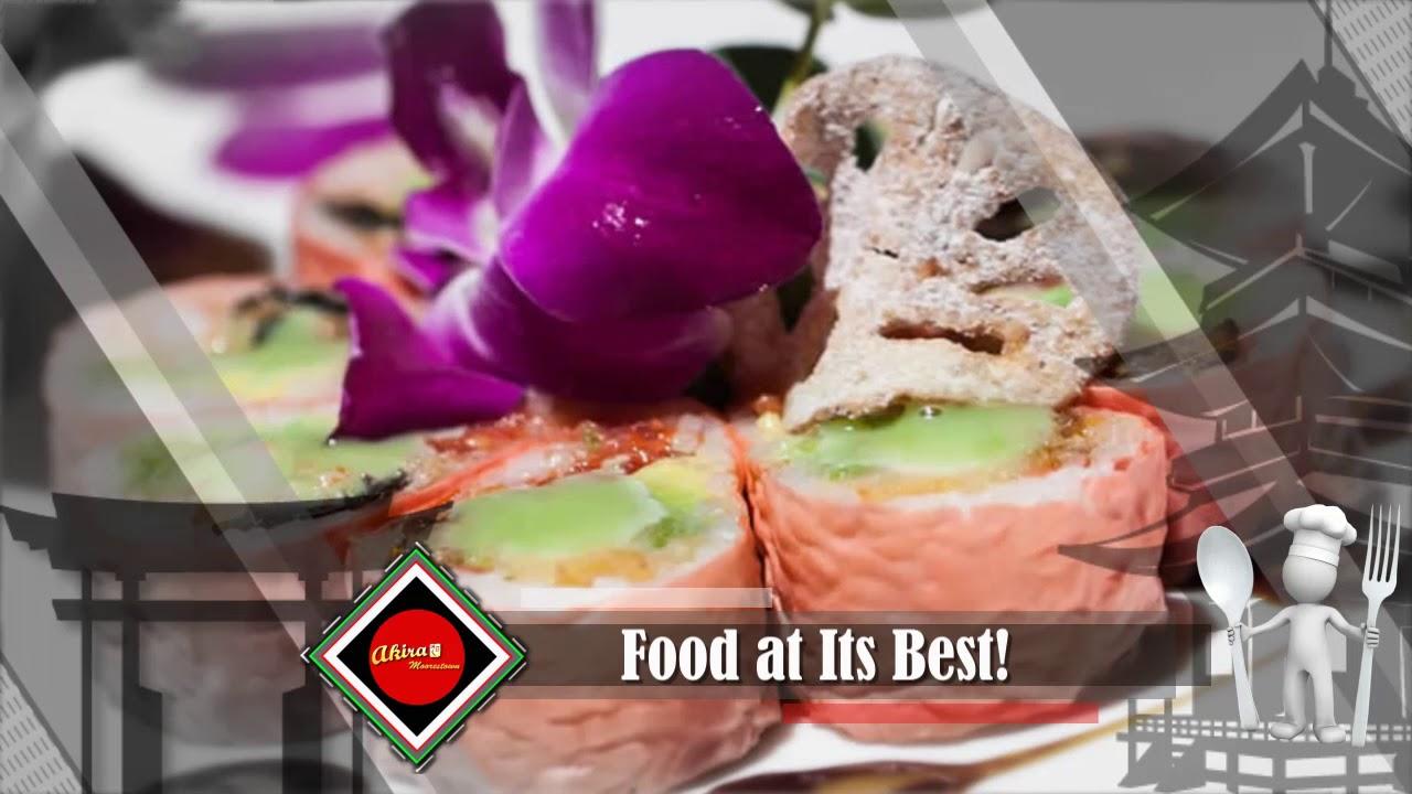 Akira 2 Japanese Restaurant Local Restaurant In Moorestown Nj 08057 Youtube