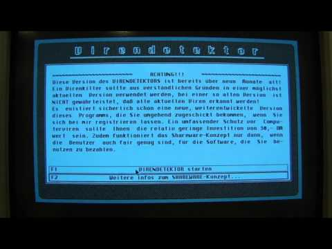 Atari Mega ST   die Software