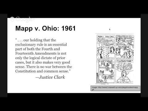 The Supreme Court Precedent Cases Mapp V Ohio