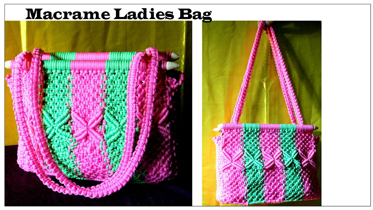 New Design Macrame Bag Handmade Macrame Bag Macrame Bag Youtube