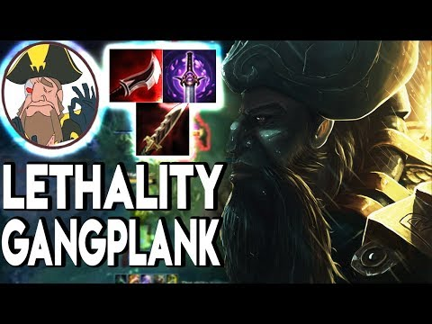 Tobias Fate - GANGPLANK FULL LETHALITY! Move in With Dyrus..? | League of Legends
