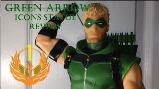 GREEN ARROW Icons Statue from DC Collectibles - P1M's True Review