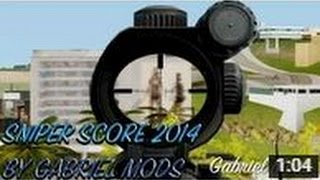 gta sa sniper scope mod cleo3