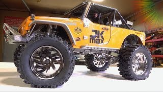 "Unbox & Install 3.2"" Dub Style Wheels On The Jk Max From D1rc 