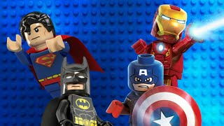 Lego DC and Marvel Superheroes Trailer