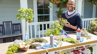 Home & Family - Diy Easter Nest Wreath With Ken Wingard