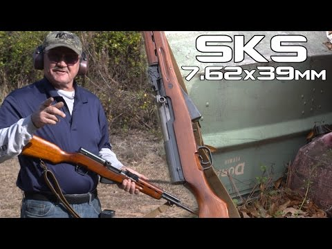 SKS complete review and history with Jerry Miculek (4K UHD)