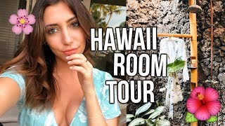 FINALLY BACK IN HAWAII!!! + Crazy Room Tour!!!!