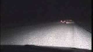 ウラジオ方面からハバロフスクを経て西へ向かう真夜中のシベリア横断道...