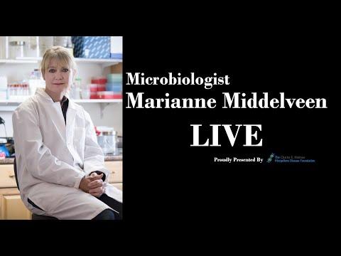 Microbiologist Marianne Middelveen LIVE