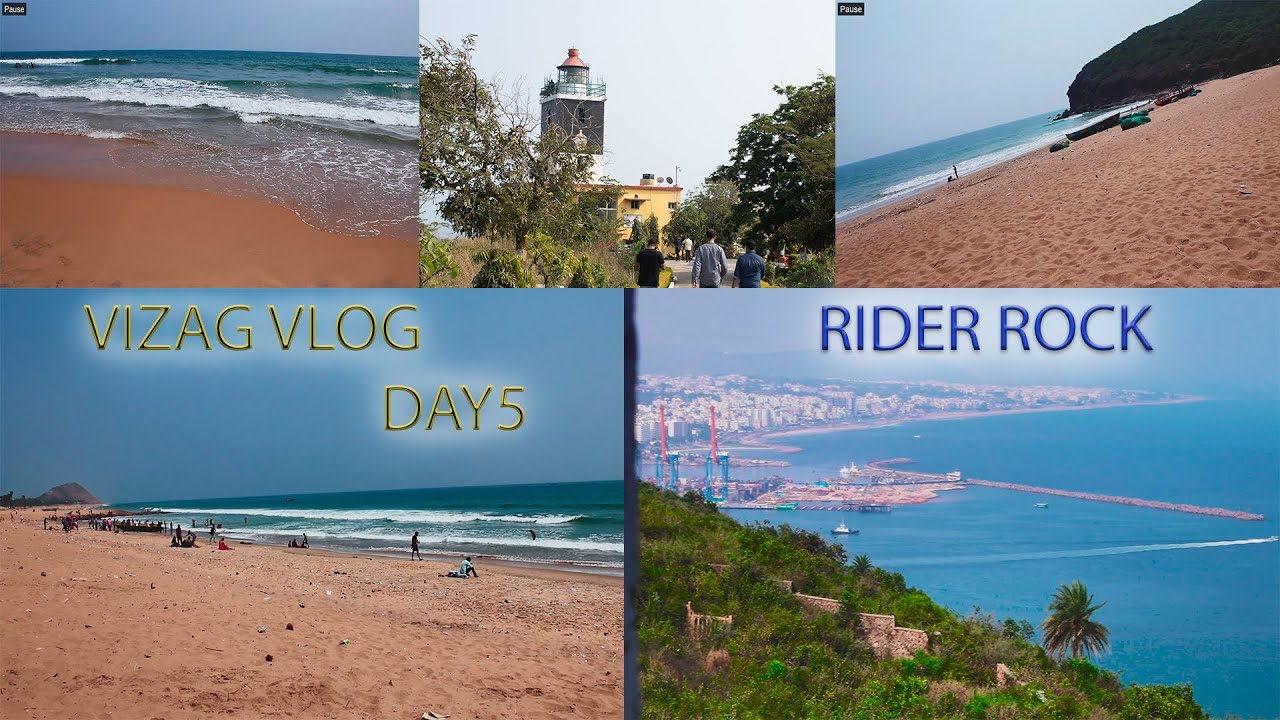 Vizag Vlog   Day 5   Final Part   With Mom   RIDER ROCK