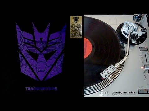 Transformers the movie - vinyl LP collector face B (Legacy recordings)