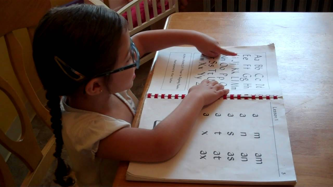 3 Year Old Alpha Phonics Reading Lesson 1 Youtube