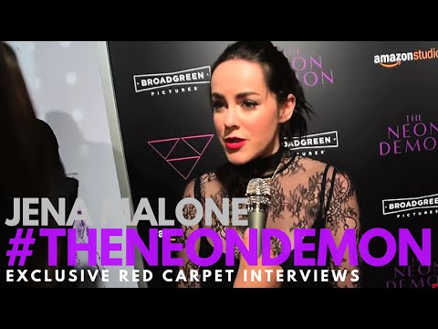 Jena Malone interviewed at the LA Premiere of The Neon Demon #TheNeonDemon