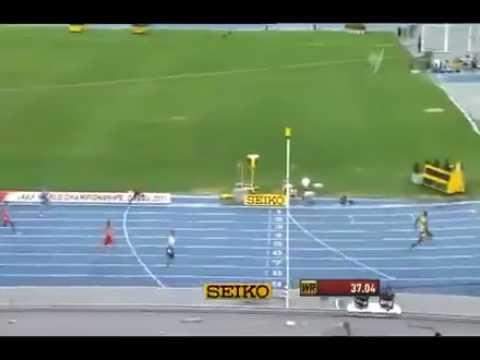 Usain Bolt Londra 2012 Erkekler 400 metre Dünya Rekoru 36.84
