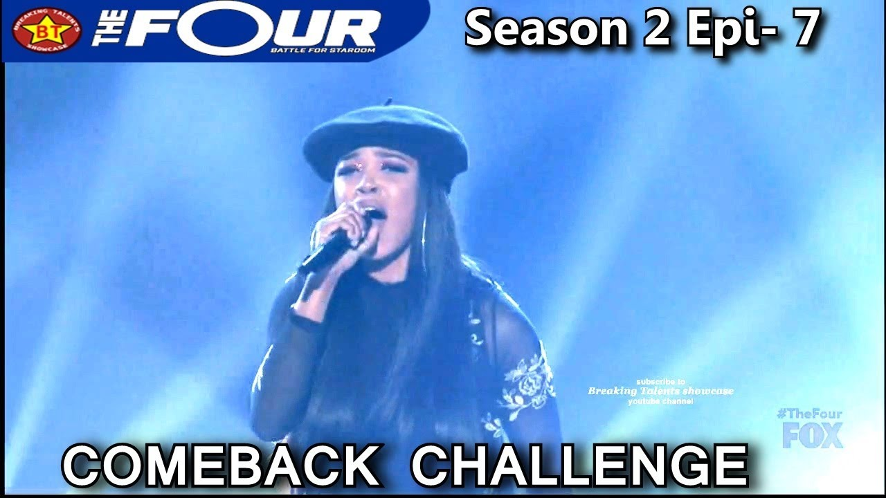 """Download Carvena Jones sings """"I Will Always Love You"""" Comeback Challenge  The Four Season 2 Ep. 7 S2E7"""