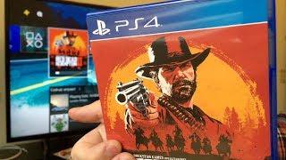 Русский диск, и даже 2. Распаковка и установка Red Dead Redemption 2 !!