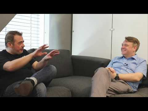 Talking about Room 77 with Joerg Platzer and Rick Falkvinge
