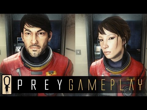 PREY Gameplay DEMO - Part 1 - Morgan Yu's Experiment - Let's Play Walkthrough Prey Game