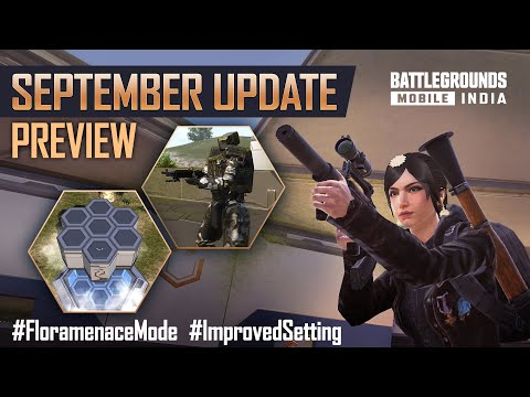 [ENGLISH] 1.6.0 September Update Patch Notes Preview - BATTLEGROUNDS MOBILE INDIA 🇮🇳