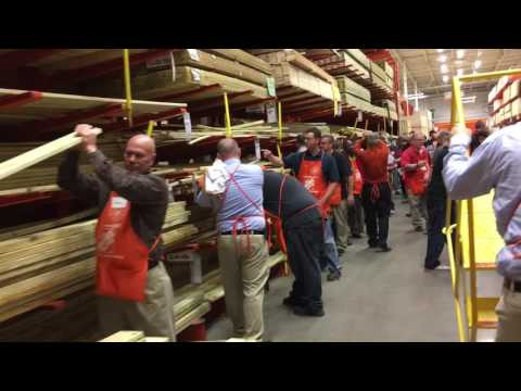 The Home Depot & Big Time Products #mannequinchallenge