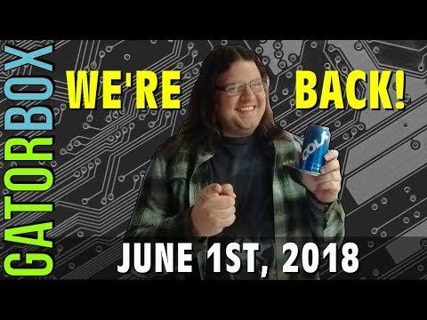 GATORBOX RETURNS -- FRIDAY JUNE 1 @ 9PM (CST)