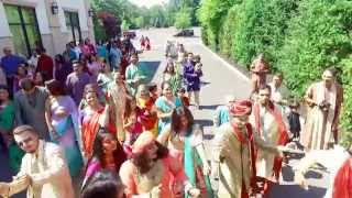 Drone video of India wedding/ Baraat at The Imperia, in Piscataway, NJ.