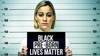 """Handcuffed for writing """"Black Pre-born Lives Matter"""""""