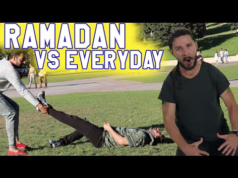 RAMADAN PRANK GONE WRONG (RAMADAN VS EVERYDAY)