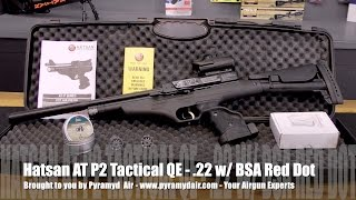 hatsan at p2 qe tactical 22 pistol carbine combo airgun review