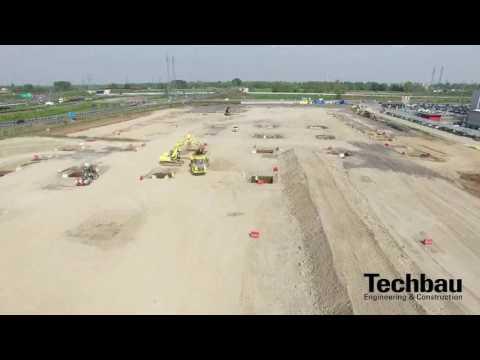 Cantiere Logistica di Pozzuolo Martesana 12/04/2017