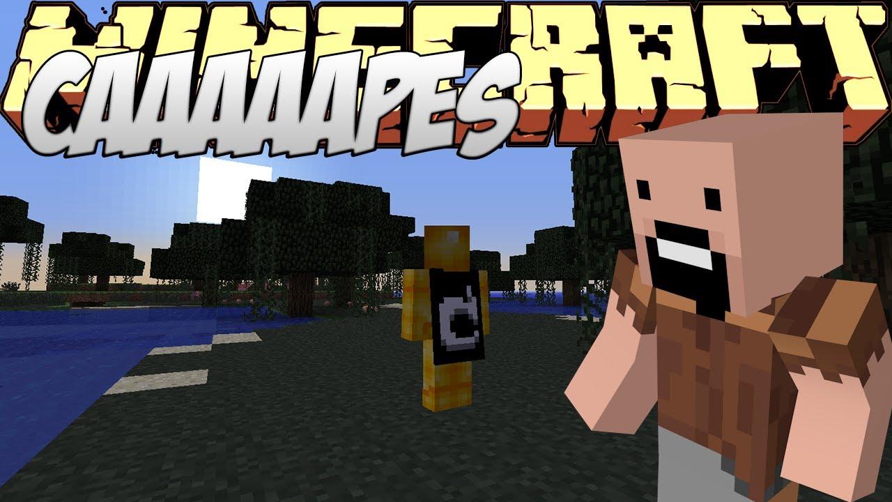 Minecraft Mods Showcase - Capes Mod! (1.8) - 1.7.10 - 1.8 ...