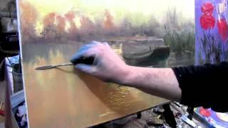Игорь Сахаров, научиться рисовать лодку