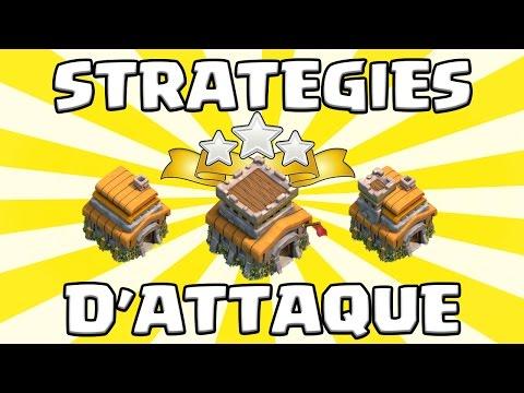 Clash of Clans | La MEILLEURE stratégie / technique d'attaque pour HDV6 HDV7 HDV8 | 100% 3 étoiles