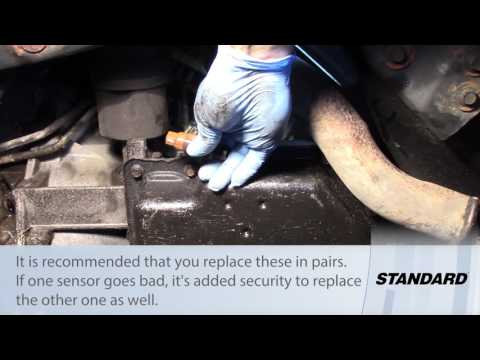 Transmission Input/Output Speed Sensor Installation - Dodge, Chrysler, Plymouth 2.7L