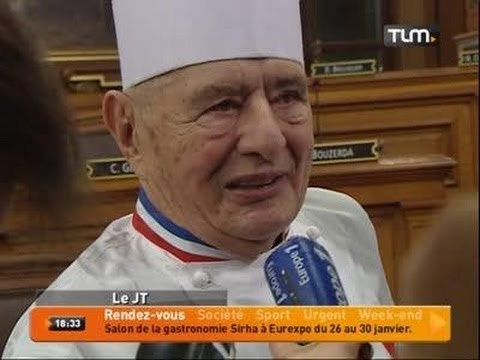 Lyon: 200 chefs pour Bocuse