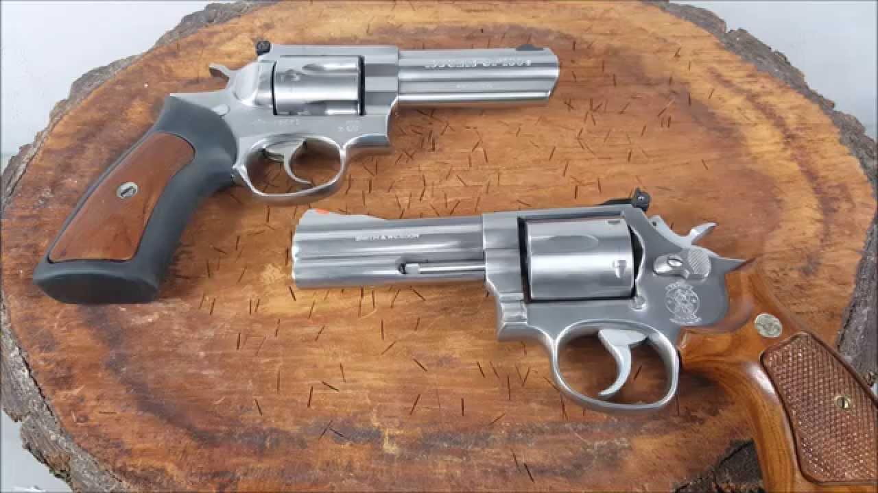 Revolver Shootout Smith & Wesson 686 vs  Ruger GP100  357 Magnum