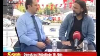 Demokrasi Nöbetinde 19 Gün Mehmet Adıgüzel ve Ahmet Taş