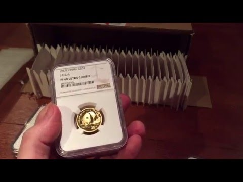 NGC grading failure yes! but this time greater success - modern gold bullion grading