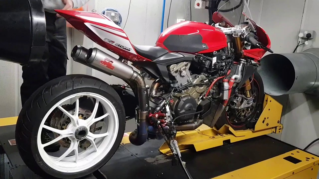 SPF Panigale 1199 race exhaust