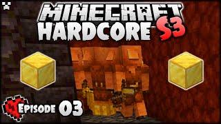 I'M SO DONE!   Minecraft Hardcore Survival S3 Ep.3