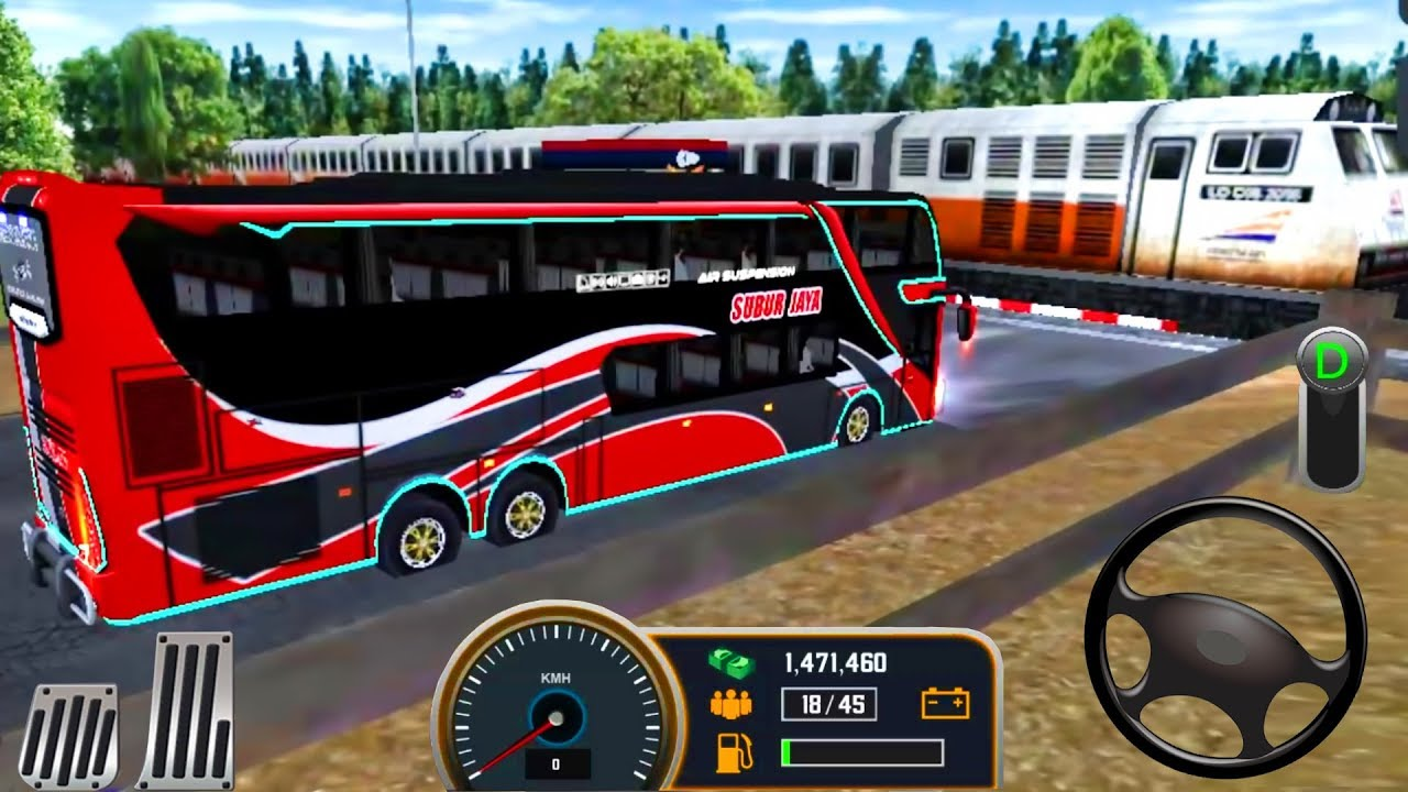 Mobile Bus Simulator 2018 First Bus Transporter Bus Driving