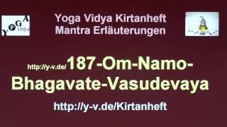 Om Namo Bhagavate Vasudevaya - Erläuterungen und Übersetzung 187
